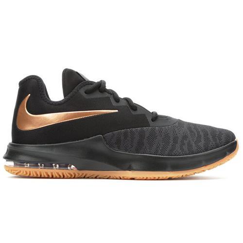 Nike Air Max Infuriate III Low Men's Basketball Black Copper Grey AJ5898-009