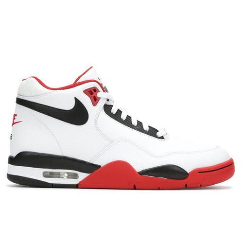 Nike Flight Legacy Men's Basketball White Black Red BQ4212-100