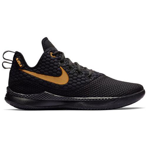 Nike Lebron Witness III Men's Basketball Black Gold AO4433-003