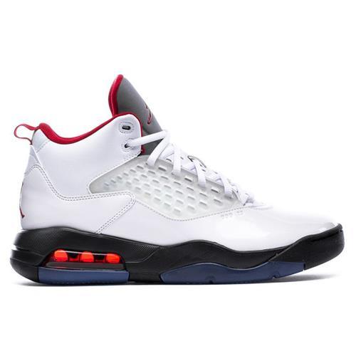 Jordan Maxin 200 Basketball White Gym Red Black CD6107-101