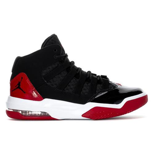Jordan Max Aura Basketball Black Gym Red White AQ9084-006