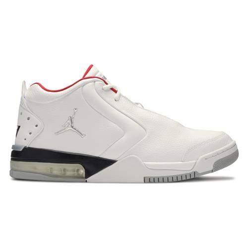 Jordan Big Fund Mens Basketball White Metallic Silver Black Varisty Red BV6273-100