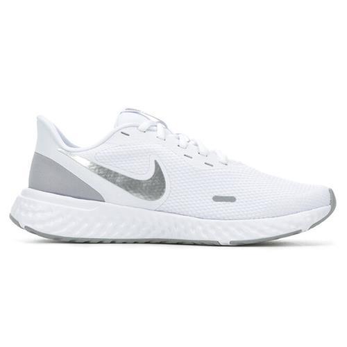 Nike Revolution 5 Women's Running White Metallic Silver BQ3207-100