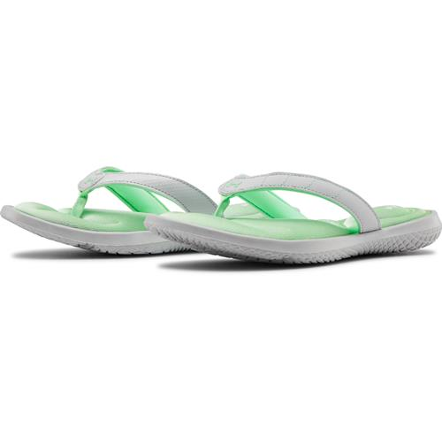 Under Armour Women's Marbella VII Sandals Halo Gray Green Haze 3022723-102