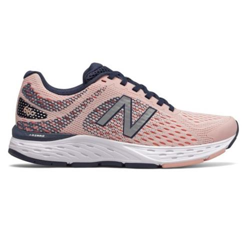 New Balance 680v6 Women's Wide D Pink W680CT6