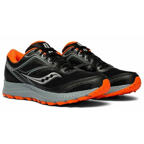 Saucony Cohesion TR 12 Men's Trail Black Orange S20475-2