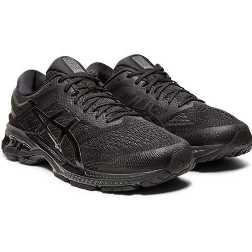 Asics Gel Kayano 26 Men's Running Shoe Black Black 1011A541 002