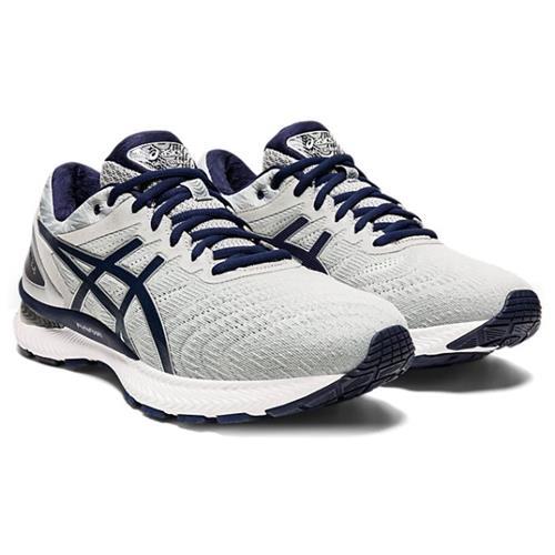 Asics Gel Nimbus 22 Men's Running Piedmont Grey Peacoat 1011A680 025