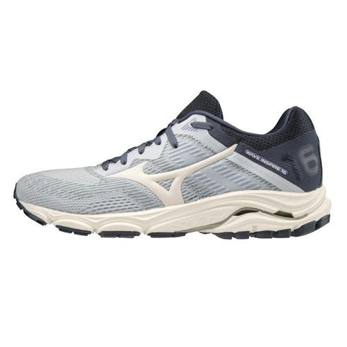 Mizuno Wave Inspire 16 Women's Running Shoes Artic Ice-Snow White 411162.57OD