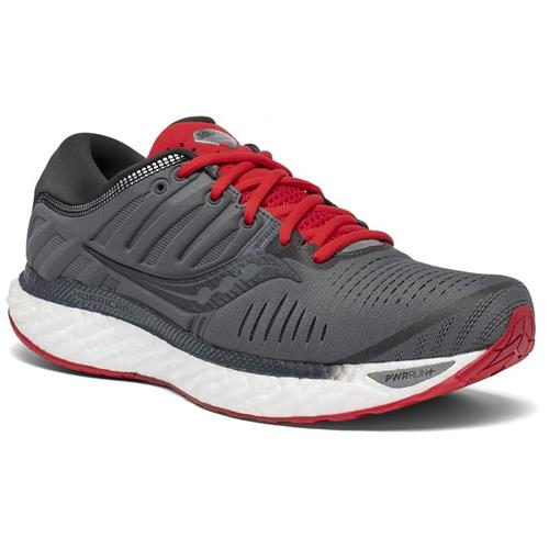 Saucony Hurricane 22 Men's Charcoal Red S20544-30