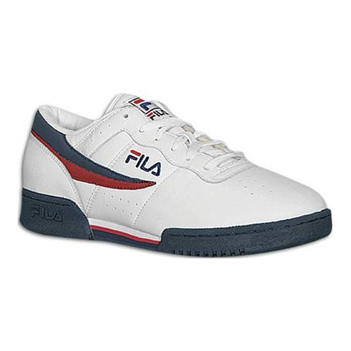 new arrival 9202c d590a Fila Original Fitness White, Navy, Red Men s Classic 11F16LT-150