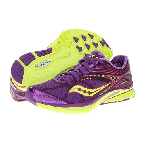 Saucony PowerGrid Kinvara 4 Women's Running Purple Pink Citron 10197-1