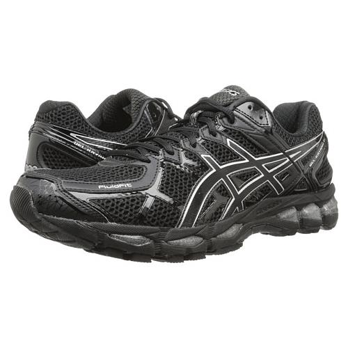 Asics Gel Kayano 21 Men's Running Shoe Onyx Black Silver T4H2N 9990