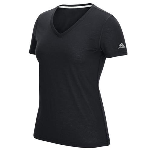 adidas v neck t shirt womens