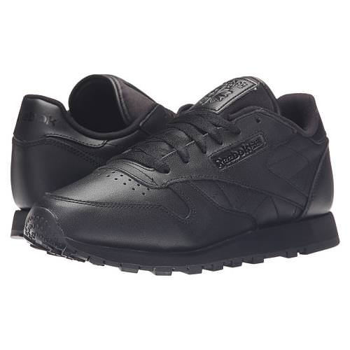 2e05afef2c2742 ... get reebok classic leather black black womens classic v45248 fecaf a86ee