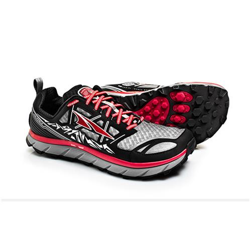 Altra Lone Peak 3 Trail Running Shoe for Men Black Red A1653-1