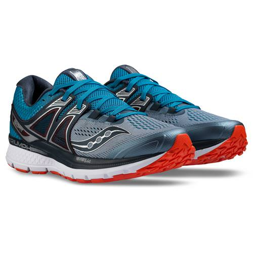 Saucony Triumph ISO 3 Men's Grey Blue Red S20346-2