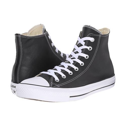 4d78d273936ba5 Converse Black and White Chuck Taylor All Star Hi Leather