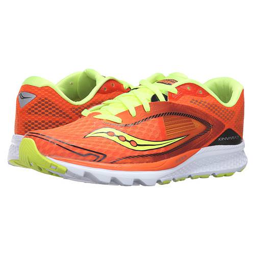 Saucony Kinvara 7 Men's Orange Citron Black S20298-5