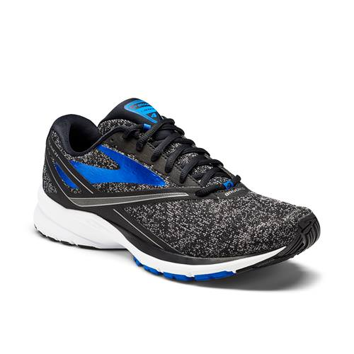 Brooks Launch 4 Men's Running Black Anthracite Electric Brooks Blue 1102441D037