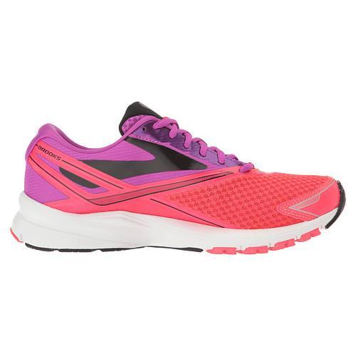 Brooks Launch 4 Women's Running Purple Cactus Flower, Diva Pink, Black  1202341B541