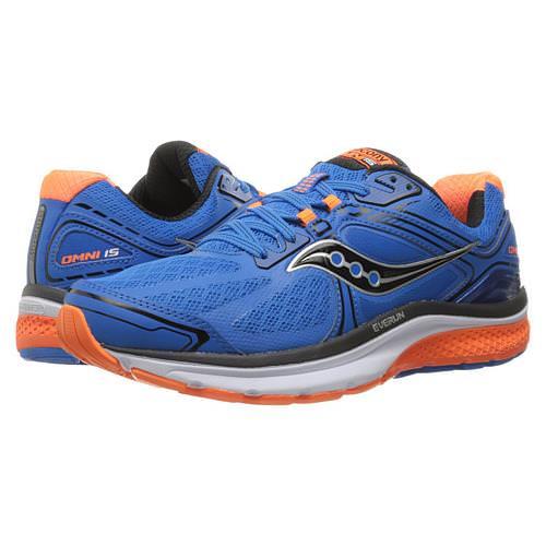 3971d4ad4ec8 Saucony Omni 15 Men s Running Shoe Blue