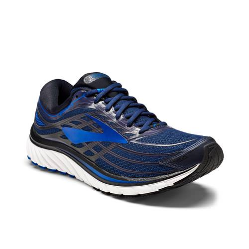 Brooks Glycerin 15 Men's Running Peacoat Navy Electric Brooks Blue Black 1102581D487