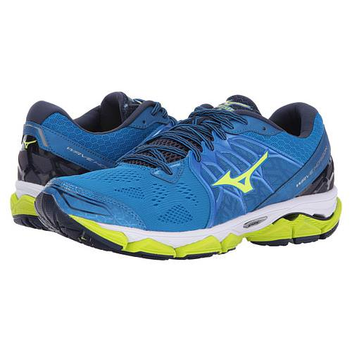 Mizuno Wave Horizon Men's Running Directoire Blue Soft Yellow Peacoat 410873.5N30