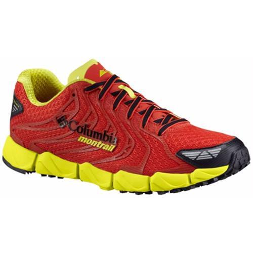 Columbia Montrail FluidFlex F.K.T. II Mens Trail Running Shoe Super Sonic Zour BM2800 845