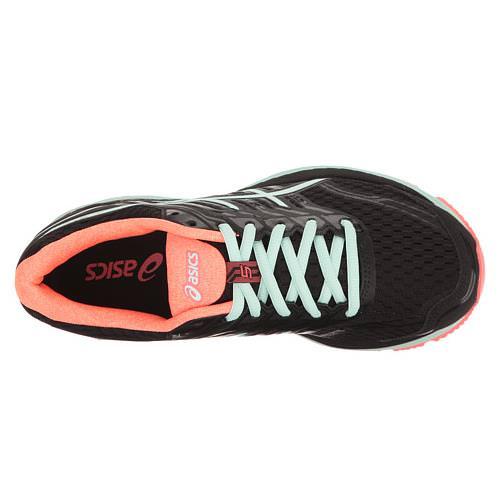 Asics Gt 2000 5 Zapatos De Mujer Negro / Bahía / Rosa kni0uy