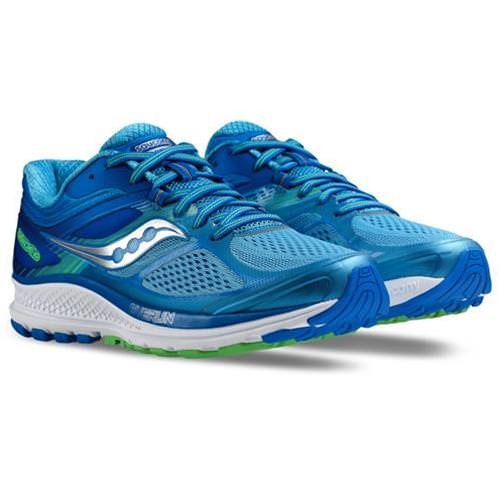 e6fa126fc84 Saucony Guide 10 Women s Running Shoe Wide D Light Blue