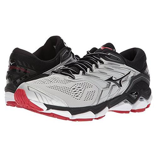 Mizuno Wave Horizon 2 Men's Running Silver Black Formula One 410981.7390
