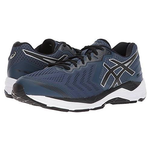 Asics Gel Foundation 13 Men's Running Shoe Dark Blue Black White T813N 4990