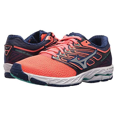 8b5a4ac8c04867 Mizuno Wave Shadow Women s Running Fiery Coral