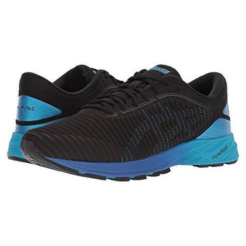 promo code d0ba0 447c9 Asics DynaFlyte 2 Men's Running Shoe Black, Blue, Limoges T7D0N 9041