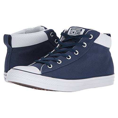 5ce4ddc81d9 Converse Chuck Taylor All Star Street Mid Navy, White 159633F-426