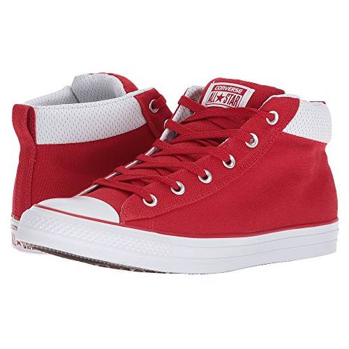 004a6821ee77 Converse Chuck Taylor All Star Street Mid Red