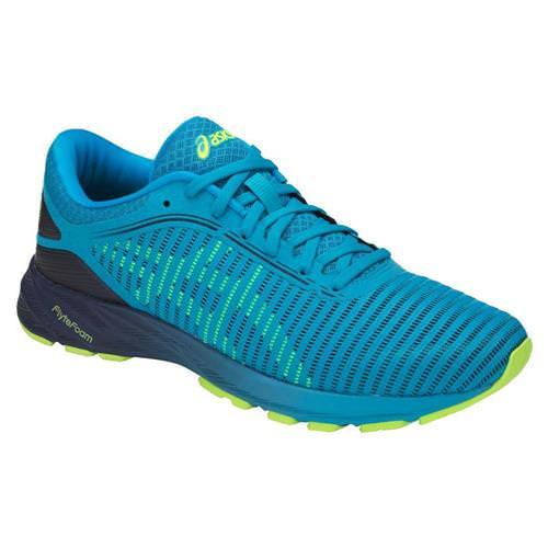 purchase cheap b27e1 f1821 Asics DynaFlyte 2 Men's Running Shoe Island Blue, Safety Yellow, Indigo  Blue T7D0N 4107