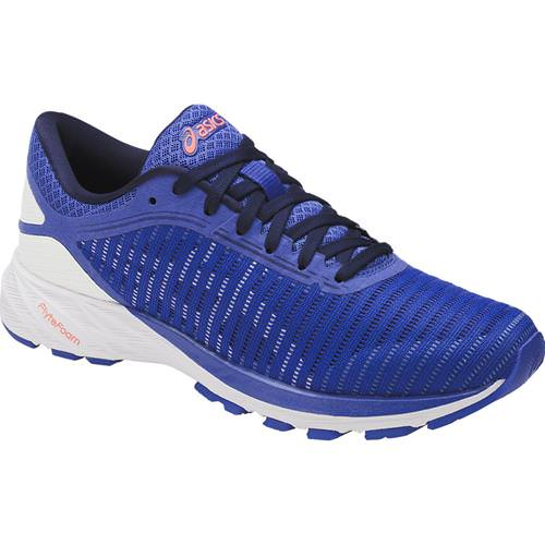 detailed look 05e2f 0af2e Asics DynaFlyte 2 Women's Running Shoe Blue Purple, White, Indigo Blue  T7D5N 4801