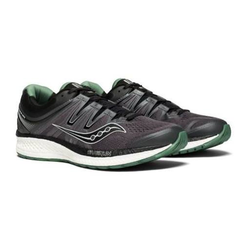 56bdd0fe Saucony Hurricane ISO 4 Men's Black, Grey, Green S20411-1