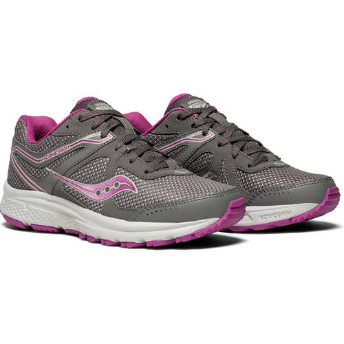 Saucony Cohesion TR11 Women's Trail Running Grey Purple S10427-2