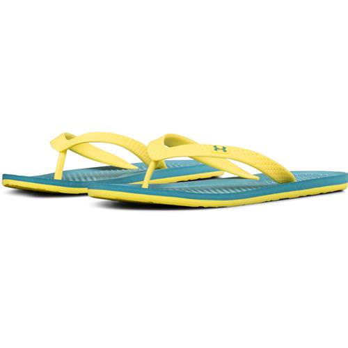 Under Armour Atlantic Dune Women's Flip-Flops in Desert Sky Sunbleached 1252540-300