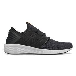eceb2feacbbd8 New Balance Fresh Foam Cruz v2 Knit Men's Running Shoe Black, Magnet  MCRUZKB2