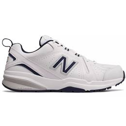 New Balance 608 v5 Men's White & Navy Cross Trainer Wide 4E MX608WN54E