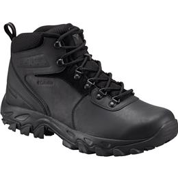 Columbia Newton Ridge Plus II Waterproof Black, Black Men's Hiking Boot 1594731 011
