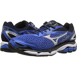 1f6df27deb3d Mizuno Wave Inspire 13 Men's Running Shoes Wide EE Strong Blue, Silver,  Black 410876.7