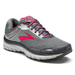 Brooks Adrenaline GTS 18 Women's Running Ebony, Silver, Pink 1202681B079
