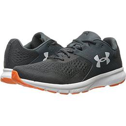 online retailer 1909a f9351 Under Armour Charged Rebel Mens Running Shoe in Stealth Gray, Glacier Gray,  Black 1298553