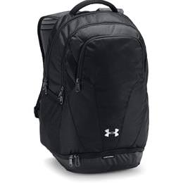 Under Armour Hustle 3.0 Backpack Black/Black 1306060- 001