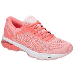 competitive price bef8d 3e91f Asics GT-1000 6 Women s Running Shoe Seashell Pink, Begonia Pink, White  T7A9N